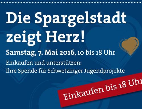 """""""Die Spargelstadt zeigt Herz"""" am 7. Mai 2016"""