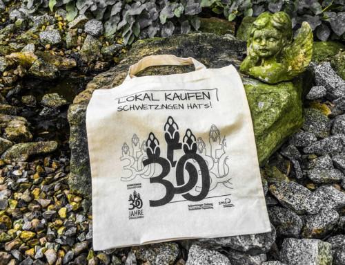 'Lokal kaufen' Tasche – Jubiläumsedition
