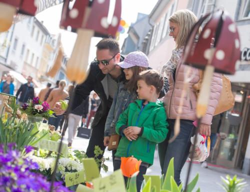 Blumengeschenke zum Saisonstart am 10. März