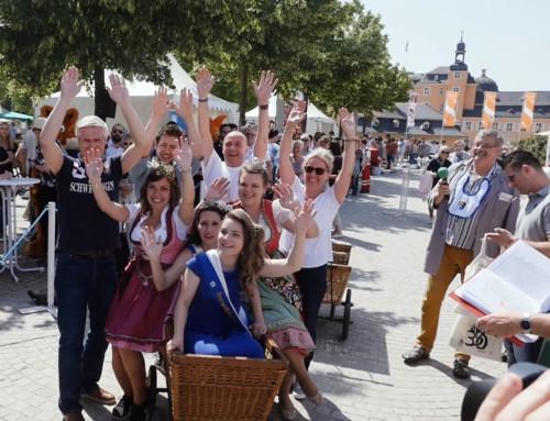 Jubiläums-Spargelsamstag in bewegten Bildern
