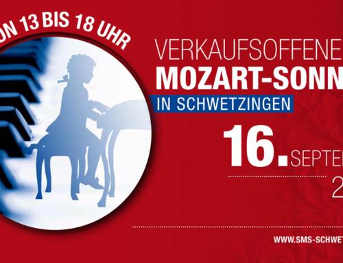 Die Lust am Einkaufen – Verkaufsoffener Mozart-Sonntag am 16. September 2018