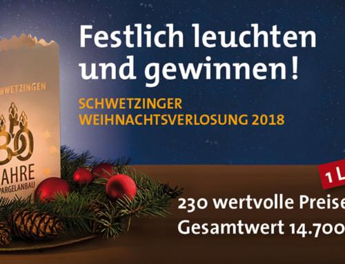 Lichtertüten als Lose für die Weihnachtslotterie