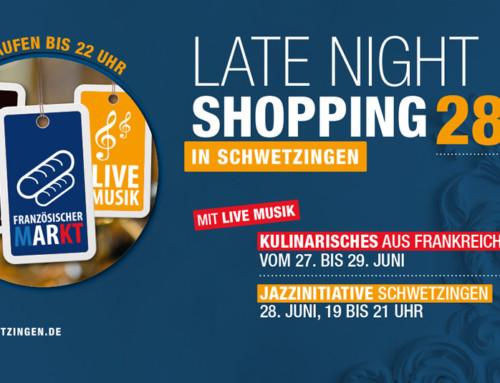 Einkaufen und Genießen am late-Night-Shopping-Abend – 28. Juni 2019