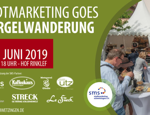 Stadtmarketing goes Spargelwanderung!