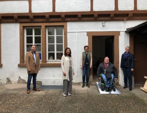 """Schwetzingen soll barrierefrei werden – Aktion """"mobile Rampen 2.0"""""""