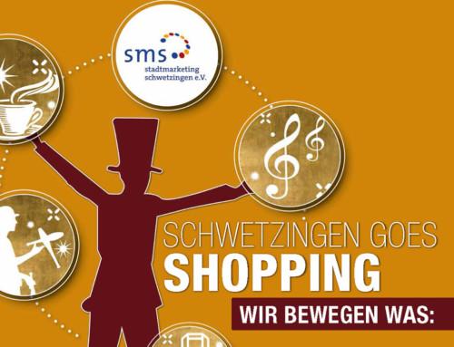 Schwetzingen Goes Shopping – Samstag, 10. Oktober 2020
