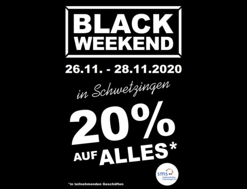 Black Shopping Weekend vom 26.11. bis 28.11.20