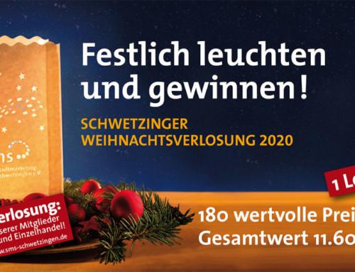 Schwetzinger Weihnachtsverlosung 2020 – Update