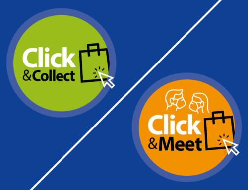 Sie können weiterhin lokal kaufen – jetzt über Click & Collect bzw. Click & Meet!