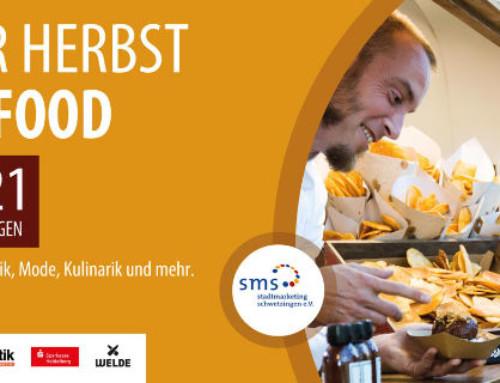 Schwetzinger Herbst trifft Streetfood am 2. Oktober 2021